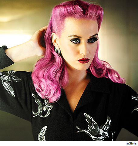 Katy Perry Pink Hair on Katy Perry Pink Hair In Style Magazine